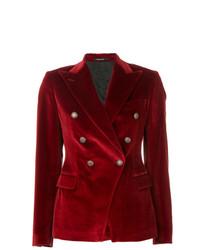 Tagliatore Double Breasted Blazer Jacket