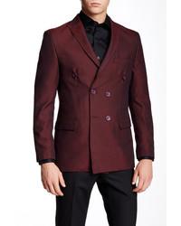 Tr Premium Textured Peaked Lapel Blazer
