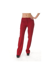 Burgundy Wool Pants Sz 42 A6026 085
