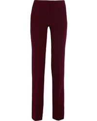 Crepe straight leg pants medium 874477