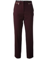Gerard Darel Leather Trim Trouser
