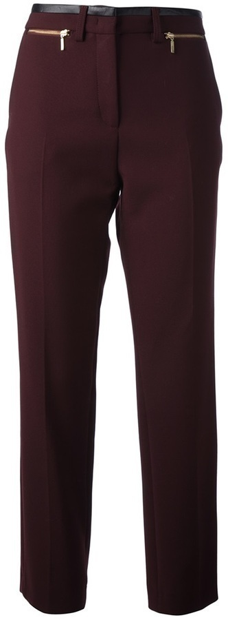 Gerard Darel Leather Trim Trouser