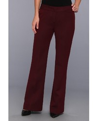 Burgundy Dress Pants for Women | Women's Fashion