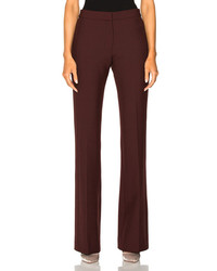 Victoria victoria beckham victoria paneled pant in red medium 6860575