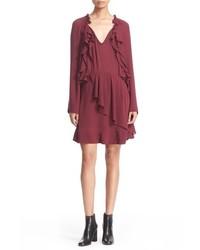 IRO Jersey Drape Dress