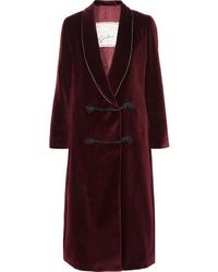 Burgundy Duster Coat
