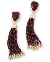Kendra Scott Blossom Pearly Tassel Earrings