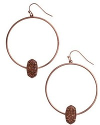 Kendra Scott Elora Frontal Hoop Earrings