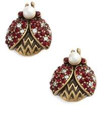Marc Jacobs Ladybug Stud Earrings