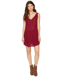 Free People Delphine Embellished Slip Dress