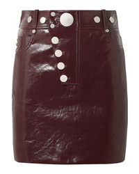 Alexander Wang Patent Leather Mini Skirt