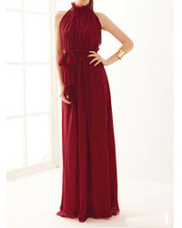 Burgundy evening dress original 1393863