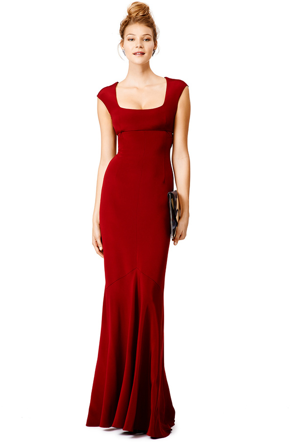 Narciso Rodriguez Red Velma Gown | Where to buy & how to wear