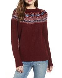 Cotton Emporium Fair Isle Sweater