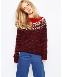 Fjall raven fjallraven fair isle sweater medium 340552