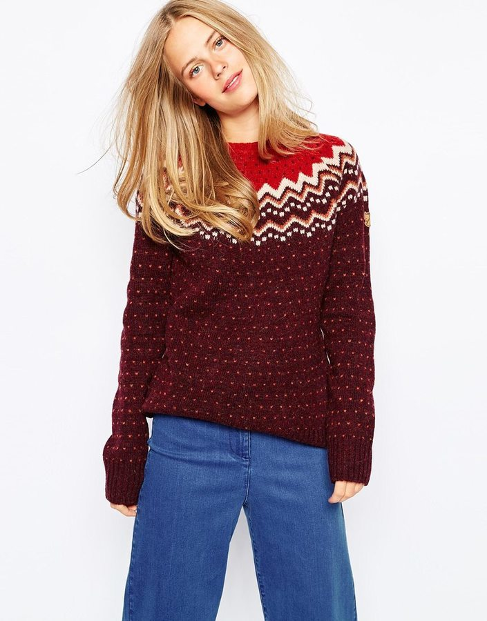 Fjäll Räven Fjallraven Fair Isle Sweater | Where to buy & how to wear