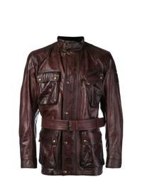 Burgundy Field Jacket