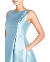 Adrianna Papell Sleeveless Mikado Fit Flare Midi Dress 178