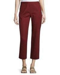 Burgundy Flare Pants