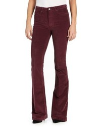 Paige Bell Canyon High Rise Corduroy Flare Pants
