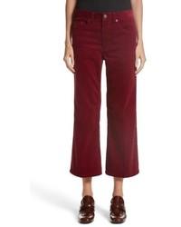 Marc Jacobs Crop Flare Corduroy Pants