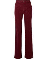 Vanessa Bruno Dompay Cotton Blend Corduroy Flared Pants