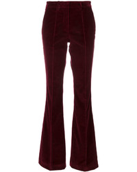 Etro Flared Velvet Trousers