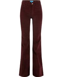 MiH Jeans M I H Flared Velvet Pants