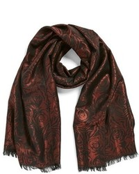 Floral jacquard scarf medium 353619