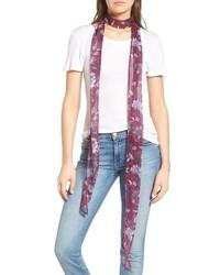Floral skinny scarf medium 3723314