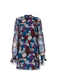 Tufi Duek Floral Print Shift Dress Unavailable
