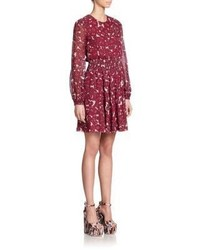 Giamba Floral Blouson Dress