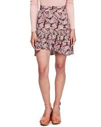 Free People Nadia Ruffle Miniskirt