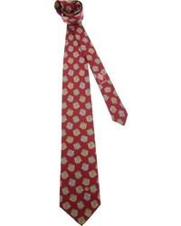 Gucci Vintage Middle Ages Printed Tie