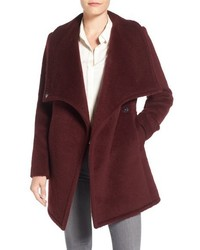 Badgley Mischka Anna Brushed Wool Blend Coat