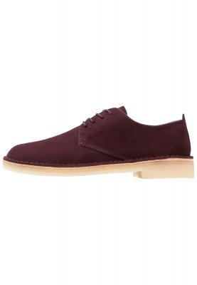 Desert London Casual chaussures bordeaux bordeauxClarks lasFC8n2