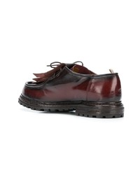 Officine Creative Fringed Lace Up Shoes