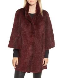Genuine mink fur jacket medium 8672124