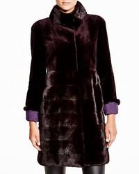 Maximilian sheared mink coat 100 medium 372443