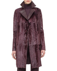 Reversible shearling fur coat camito medium 694308