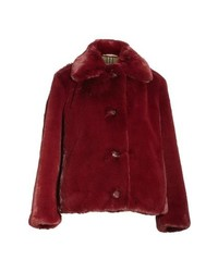 Burberry Alnswick Faux Fur Coat