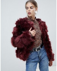 New Look Fluffy Faux Fur Coat