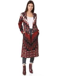 Mara Hoffman Bolnisi Rug Sweater Coat