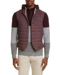 Eleventy Packable Quilted Vest