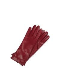 Burgundy Gloves