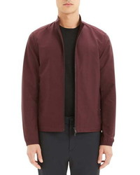 Burgundy Harrington Jacket