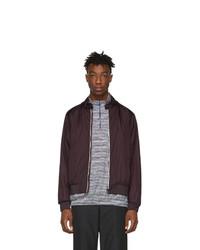 Moncler Burgundy Miroir Jacket