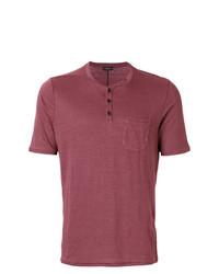 Roberto Collina Button Pocket T Shirt