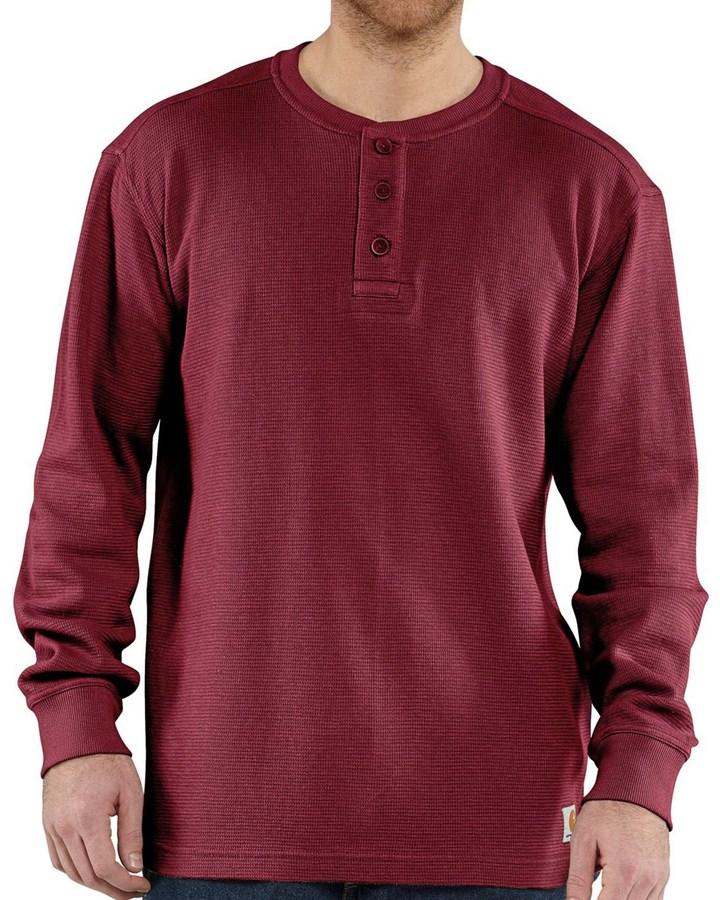 Carhartt Textured Knit Henley Shirt Long Sleeve Where To