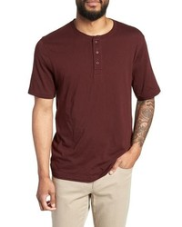 Vince Layered Henley T Shirt